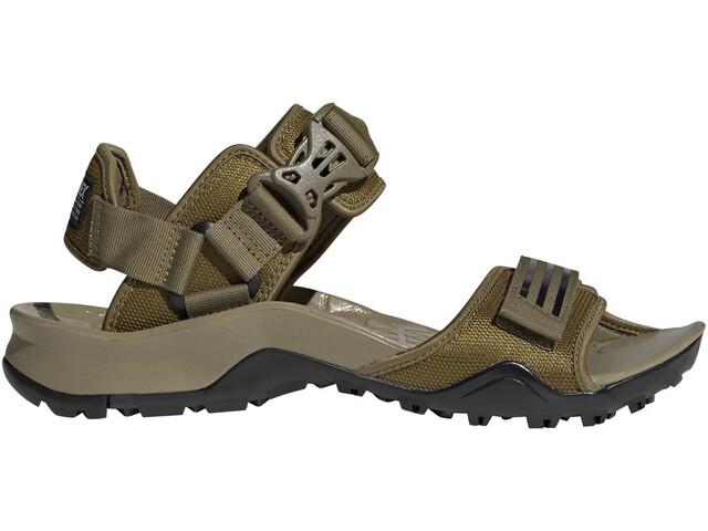adidas Cyprex Ultra DLX Sandals Men, wild moss/core black/wild moss
